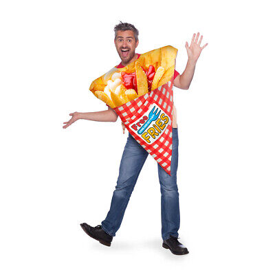 French Fries Chips Essen Costume