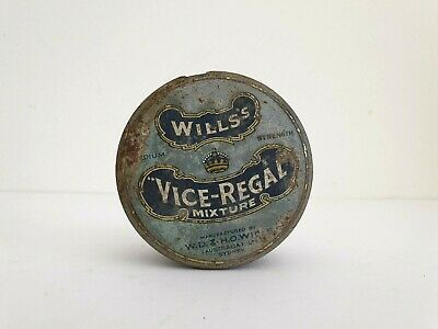 Wills's Vice Regal Tobacco tin, Wills's Tobacco tin