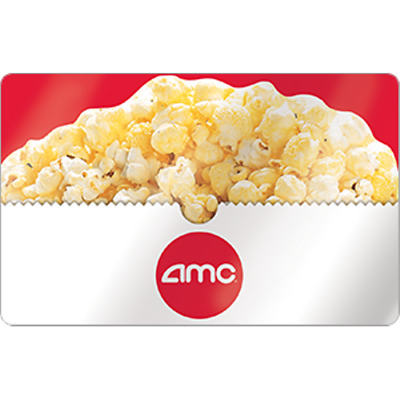 Amc Theaters Gift Card $15 Value, Only $12.50! Free Shipping!