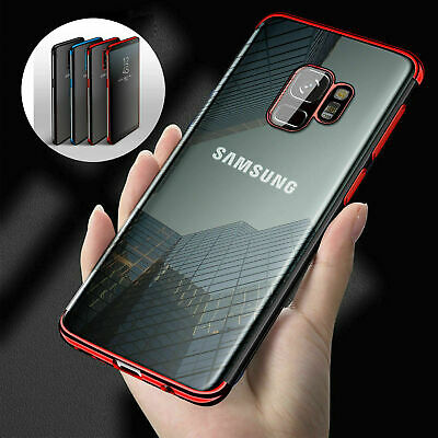 Clear Bling Case For Samsung Galaxy S9 S8 S10 Shockproof Silicone Luxury Cover