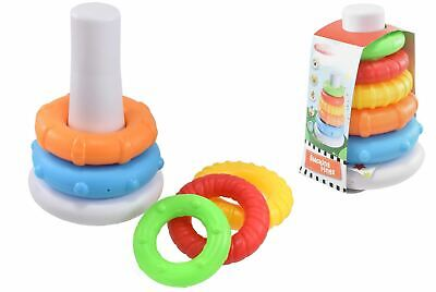 Colourful Stacking Sorting Rings Baby Toddler Boys & Girls Educational Toy