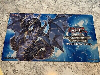 Yugioh Thunder Dragon Colossus World Championship Qualifier Playmat