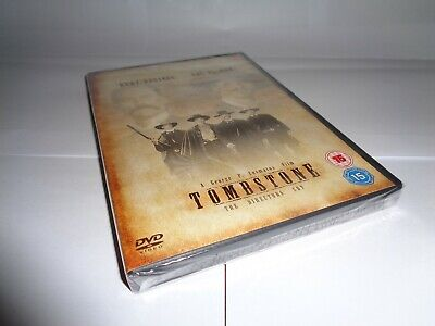 TOMBSTONE 2 DISC SPECIAL EDITION - KURT RUSSELL  dvd UK RELEASE NEW SEALED RARE
