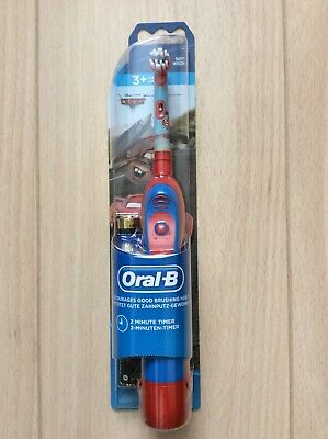 Oral B Childrens Disney Pixar Cars Soft Battery Operated Toothbrush