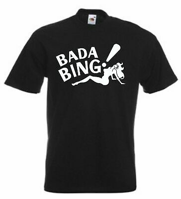 Bada Bing Strip Club gangster mob mafia Inspired by The Sopranos S-5XL T-Shirt