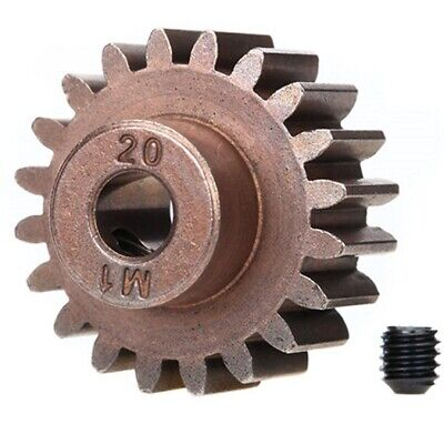 15 Tooth Pinion Gear 1.0 Pitc... NEW Traxxas For 5mm Shaft Steel Spur Gear 15T