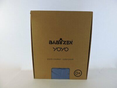 Babyzen YOYO Plus 0+ Colour Pack Blue Canopy Nest Footcover Buggy Pushchair Baby