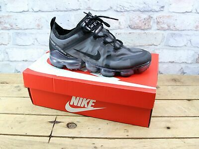 Mens Nike Air Vapormax 2019 Black Fitness Gym Running Trainers Size 7 Rrp £165
