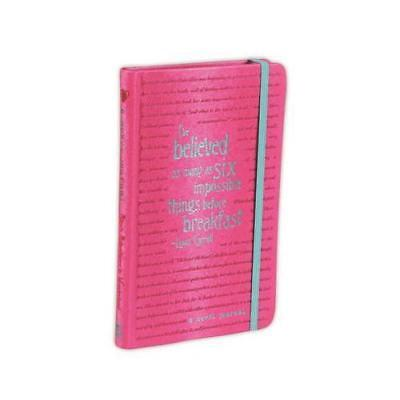 A Novel Journal: Alice's Adventures in Wonderland (Compact) by Lewis Carroll ...