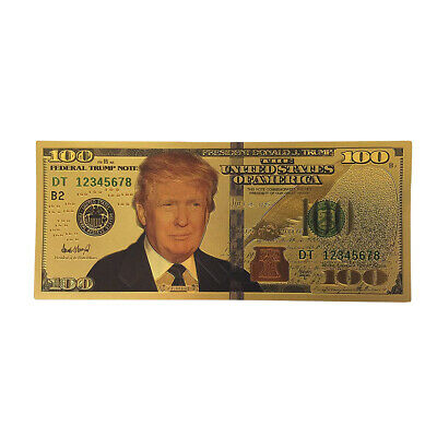 US President Donald Trump $100  Commemorative Banknote Gift #US