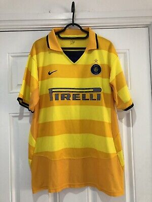 2003-04 Inter Milan Away Shirt - XL