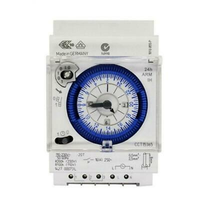 Analog Mechanical Timer Switch 110V-220V 24 Hours Daily Programmable UK Timer BE