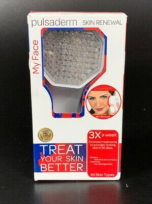 Pulsaderm Skin Care Tools Red LED- Light Therapy Technology FREE SHIPPING!