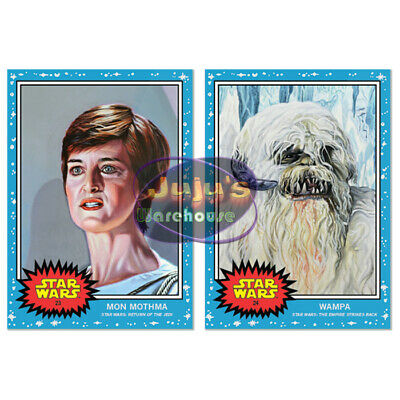 Topps Star Wars Living Set 2-Card Bundle #23-24 Mon Mothma & Wampa FREE SHIP