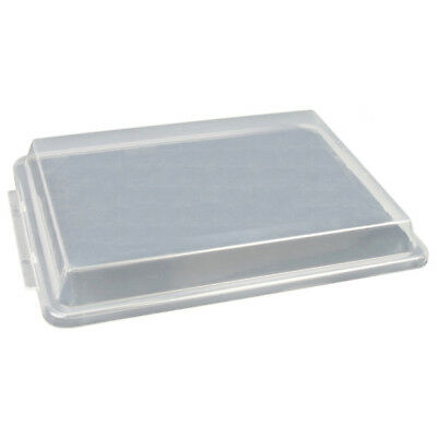 Thunder Group PLSP1813C, 18x13-Inch Half Size Sheet Pan Cover, Plastic,Transluce