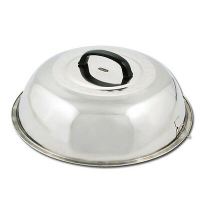 Winco WKCS-14, 13.75-Inch Wok Cover, Stainless Steel