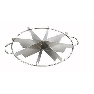 Winco SCU-8, Stainless Steel Pie Cutter, 8 Cuts
