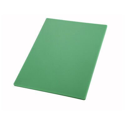 Winco CBGR-1824, 18x24x0.5-Inch Green Cutting Board for Vegetables and Fruits