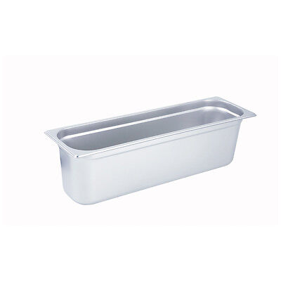 Winco SPJL-6HL, 6-Inch Deep Half-Long Size Steam Table Pan