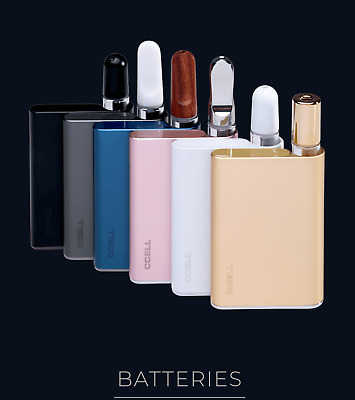 Ccell Palm Battery Grey, Black, Blue, Pink, White | 550mah | THB07 Fast Shipping