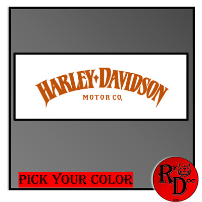 Harley Davidson Decal/Sticker Motorcycle Harley American