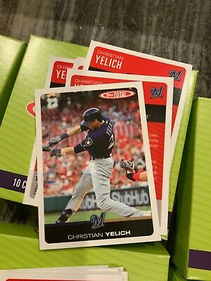 2019 Topps Total (Wave 6) CHRISTIAN YELICH #501 Brewers SP Print Run /372
