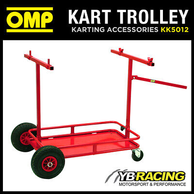 Kk05012 Omp Karting Trolley On Wheels To Carry Go-Kart And Tyres/Parts