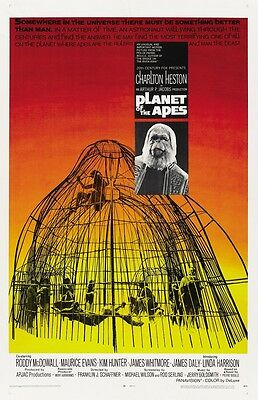 Planet Of The Apes movie poster (a) Charlton Heston - 11 x 17 inches