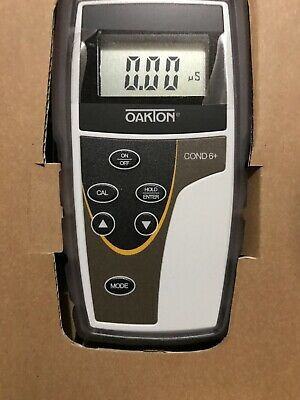 Cole Parmer Oakton CON 6+ Handheld Conductivity Meter with Probe