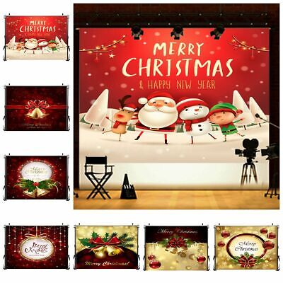 7x5FT Christmas Bell Floor Photography Background Photo Studio Backdrops Props