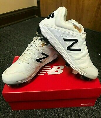 New Balance L3000SW4 Men's Fresh Foam 3000v4 Metal Cleats White Baseball Shoes