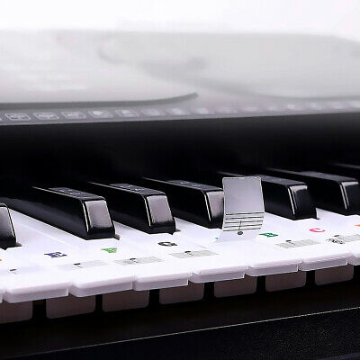 Removable Keyboard Stickers for 88/61/54/49 Fresh Key Sticky Piano Stickers D5C