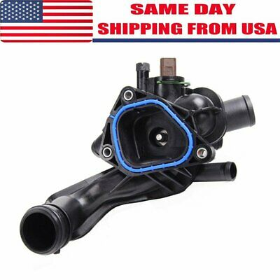 JDMSPEED New Thermostat Assembly With Housing Sensor Gasket 11537534521 Fit For Mini Cooper 07-13