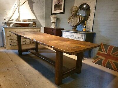 17th Century Oak Refectory Dining Table
