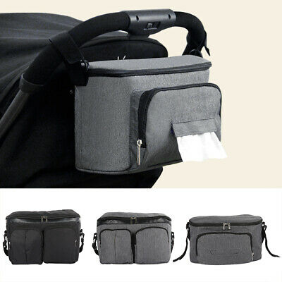 Baby Diaper Nappy Changing Mummy Bag Organiser Stroller Pushchair Pram Holder