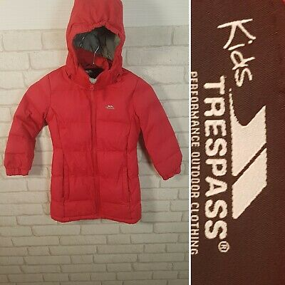 Trespass Coat Girls 2 - 3 Years Pink TP50 Waterproof Insulated Quilted Hooded.#£