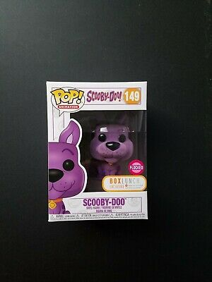 Funko Pop Flocked Purple Scooby-Doo #149 Box Lunch Exclusive Soft Pop Protector