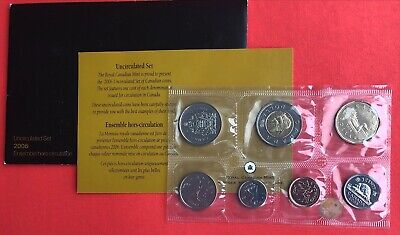 2006 - - Pl Set - - Canada RCM Proof Like Mint - With COA and Envelope