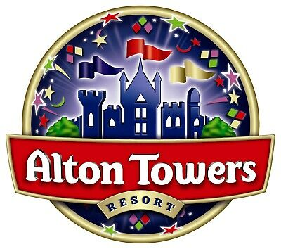 2 x Alton Towers Tickets for Sunday 29th September 2019