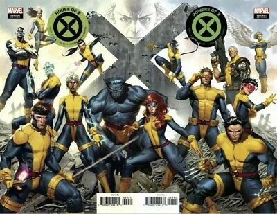 House Of X + Powers Of X #4 Molina Connecting Variant Set  Nm