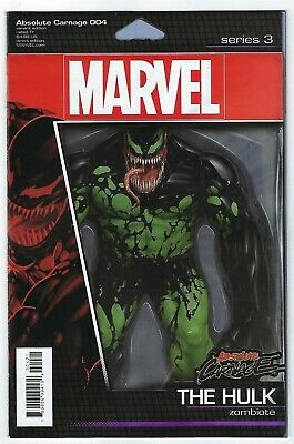 Absolute Carnage # 4 Action Figure Variant Cover NM Marvel