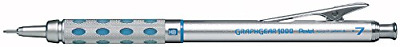 Pentel Graph Gear 1000 Automatic Drafting Pencil, 0.7mm Lead Size, Blue Barre...