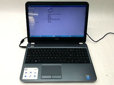 "Dell Inspiron 15R 5537 15.6"" Intel i5-4200U 1.6GHz 8GB 500GB 1600x900 Laptop"