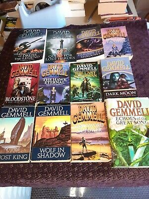 Collection Of David Gemmell Books