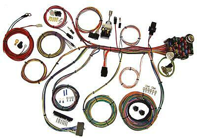 AMERICAN AUTO WIRE 1967 1968 Ford Mustang Wiring Harness Kit ... on