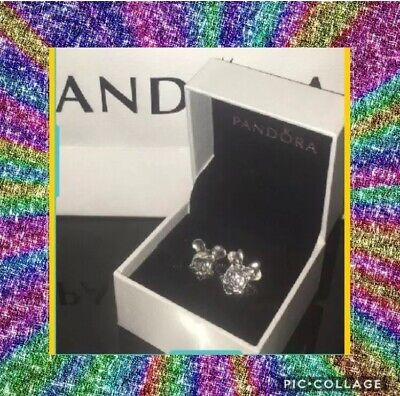 Disney Mickey and Minnie Mouse Charms Stamped Pandora S925 Ale As Seen In Pics