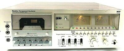 Vintage MCS Modular Component Systems 3570 Stereo Cassette Dual Meter Tape Deck