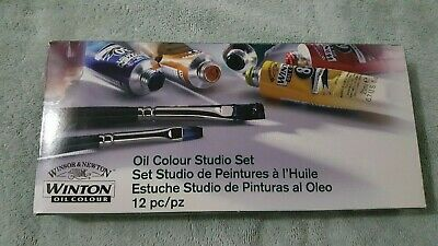 Winsor&Newton Winton Oil Colour Studio Set 1490620 NEW SEALED