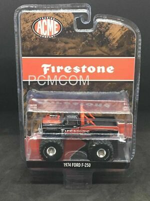 Greenlight 1/64 FIRESTONE 1974 Ford F-250 MONSTER TRUCK ACME EXCLUSIVE 51272