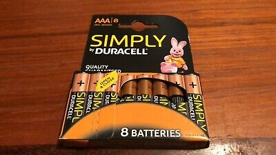 Duracell AAA Batteries - 8 Pack LR03 MN2400 - FREE UK POST